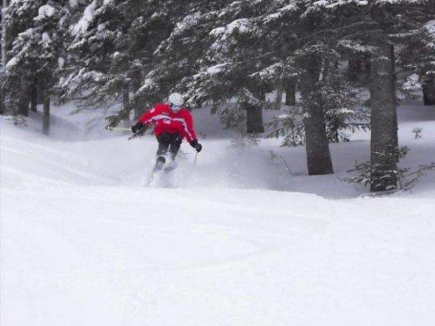 """Alpine skiing at Val d'Irene"""