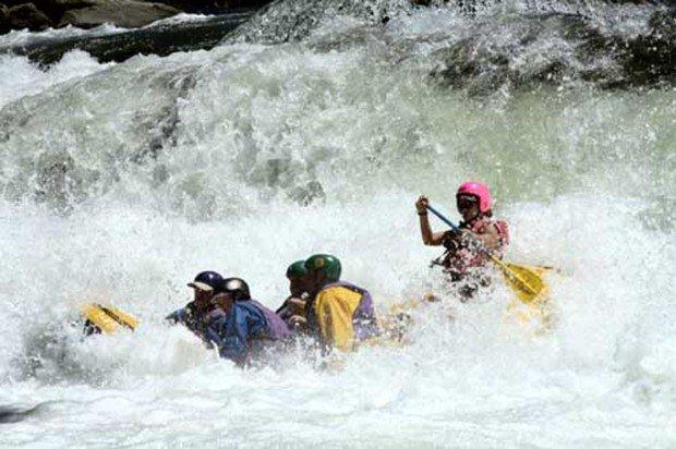"""""""Ash River White Water Rafting"""""""