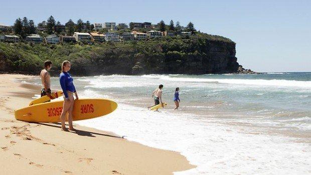 """""""Bilgola Beach Surfing"""""""