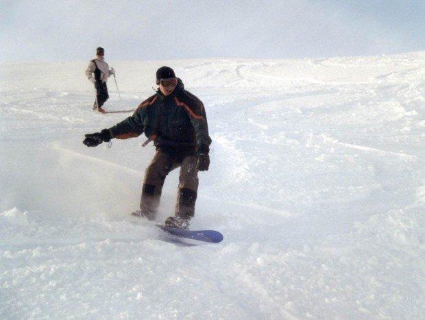 """Bjorkliden Snow Boarding"""