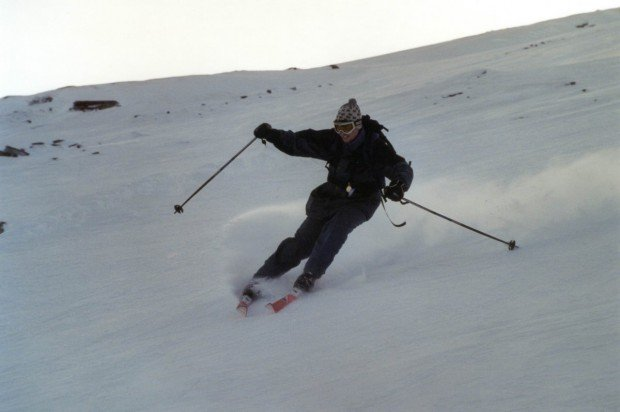 """""""Skier at Bjorkliden"""""""