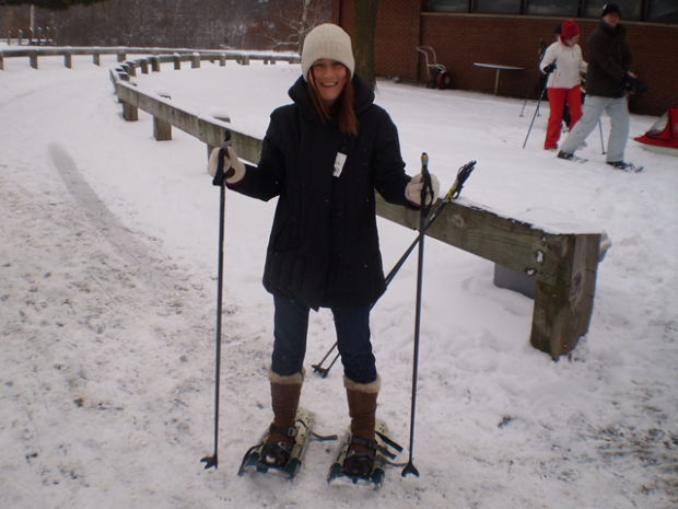 """""""Snowshoeing at Canada"""""""