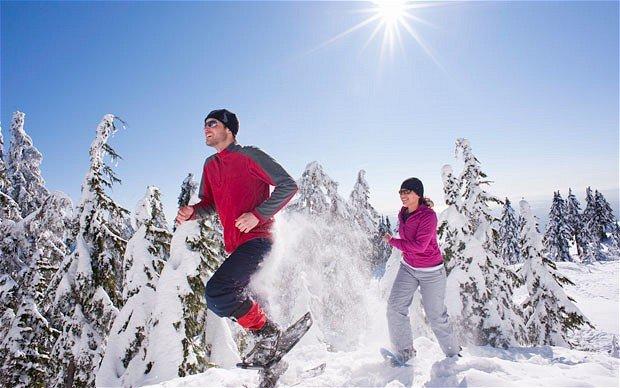 """Canada snowshoeing"""