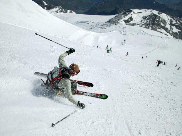 """Centre de Ski Mont Castor Alpine Skier"""