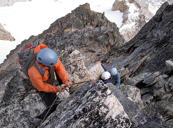 """Climbing walls at Silver Star Mountain"""