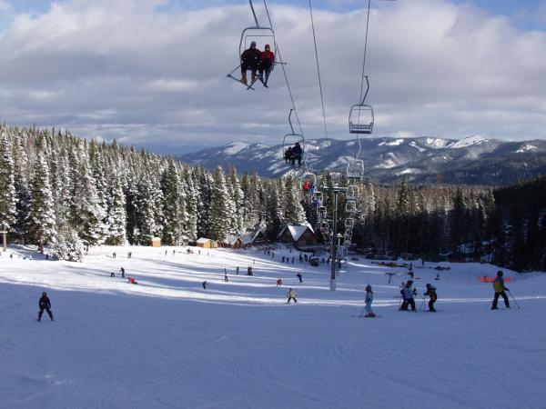 """Cooper Spur Ski Area, Snowboarding"""