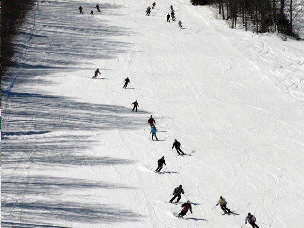 """Cross Country Skiing at Club du Ski de Mont Biencourt"""