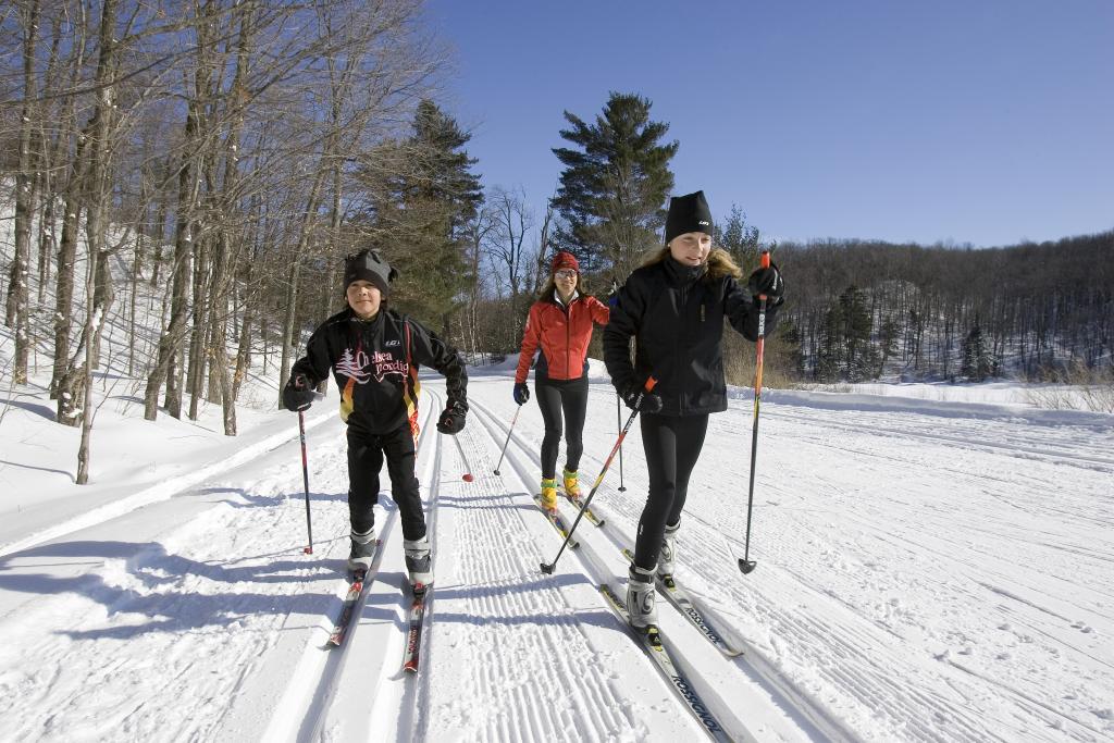 Cross Country Skiing Ski Montcalm Rawdon Quebec Canada