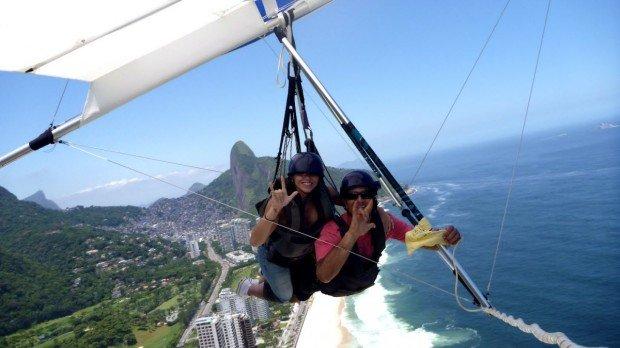"""""""Hang Gliders at Rio De Janeiro"""""""