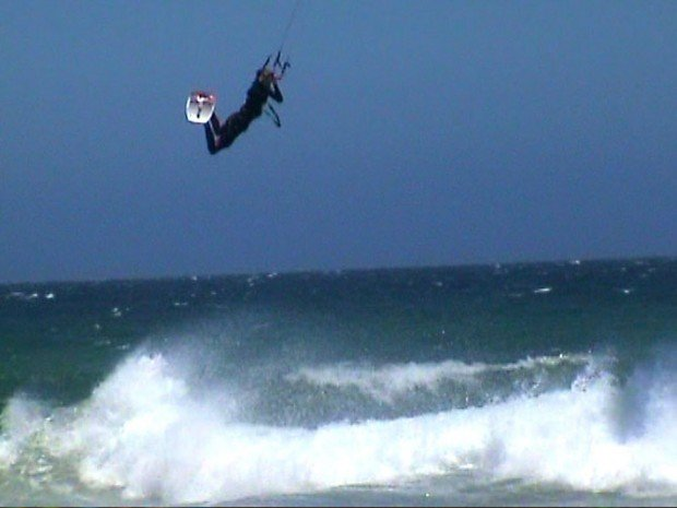 """Hartenbos Beach Kitesurfing"""