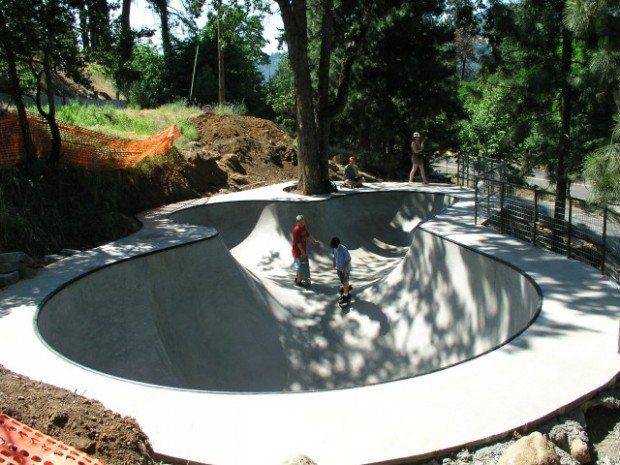 """""""Hood River Skatepark, Skateboarding"""""""