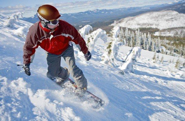 """Hoodoo Ski Area, Snowboarding"""