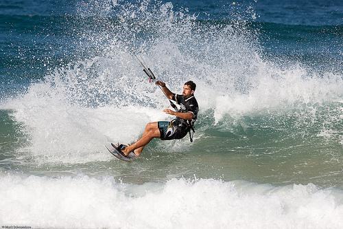"""Kite Beach, Durban Kitesurfing"""