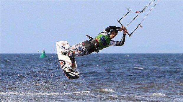 """""""Kitesurfing, Aberdeenshire"""""""