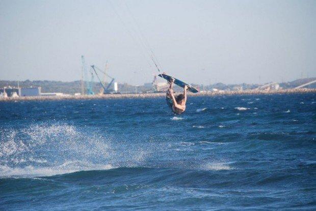 """""""Kitesurfing at Dunsborough"""""""