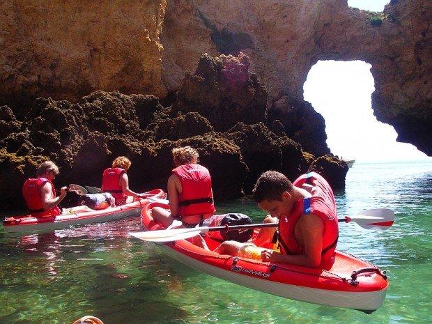 """""""Lagos, Algarve kayaking"""""""