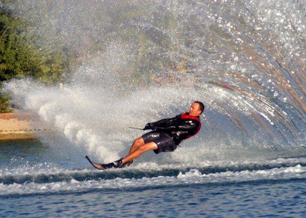 """Lake Havasu Water Skier"""