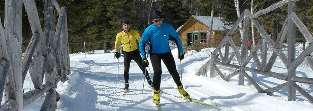 """""""Le Massif de Charlevoix Cross Country Skiing"""""""