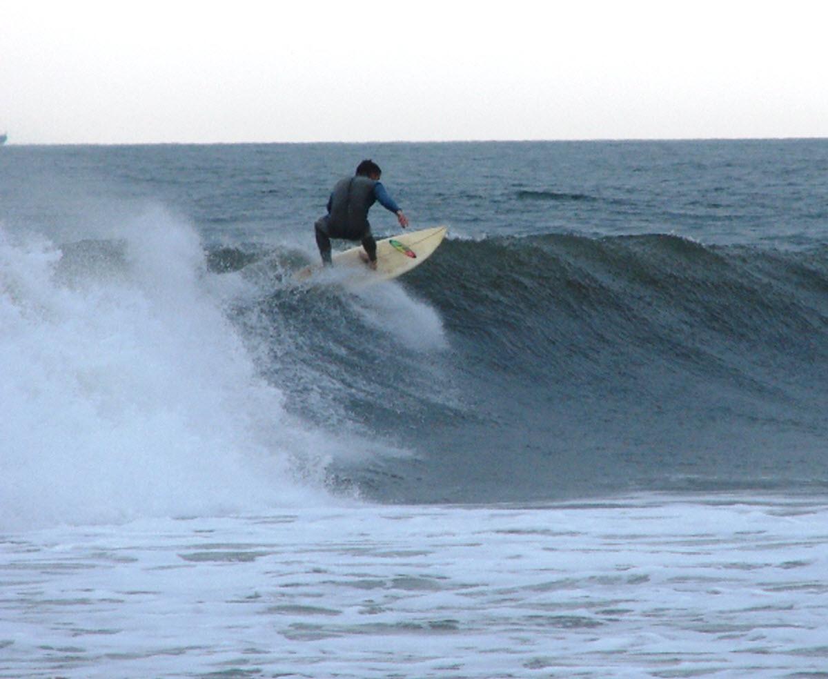 Long Beach Surfer