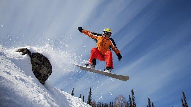 """""""Mont Cascades Snowboarder"""""""