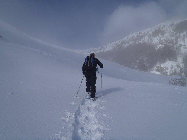 """Mont Cascades Snowshoeing"""