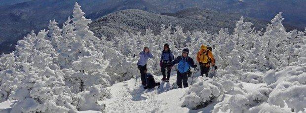 """Mont Gleason Snowshoeing"""