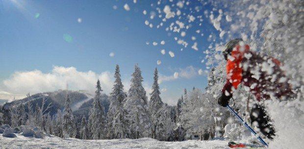 """Mont Saint-Sauver Alpine Skiing"""