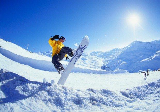 """""""Mont Sainte Anne Snowboarding"""""""
