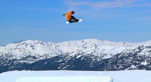 """""""Mont Sutton Snowboarder"""""""