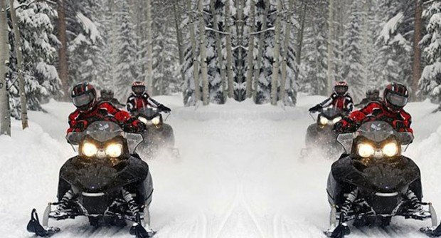 """""""Mont Tremblant Snowmobiling"""""""