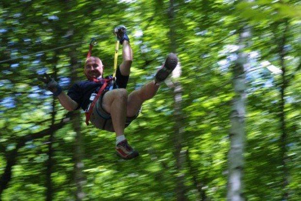 """Mont Tremblant Ziplining"""