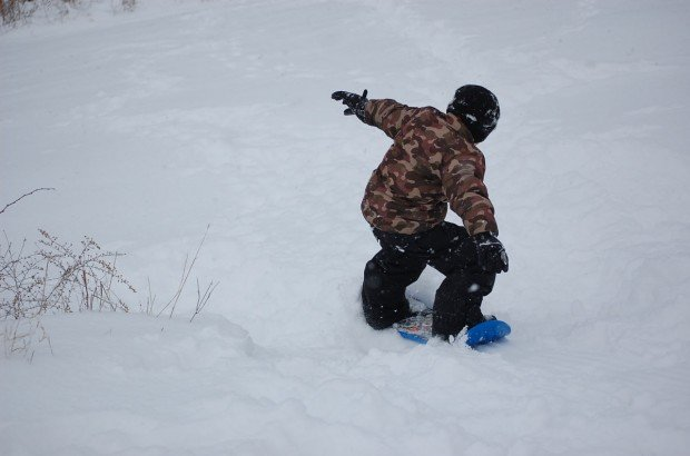 """Mont Vascades Snowskating"""