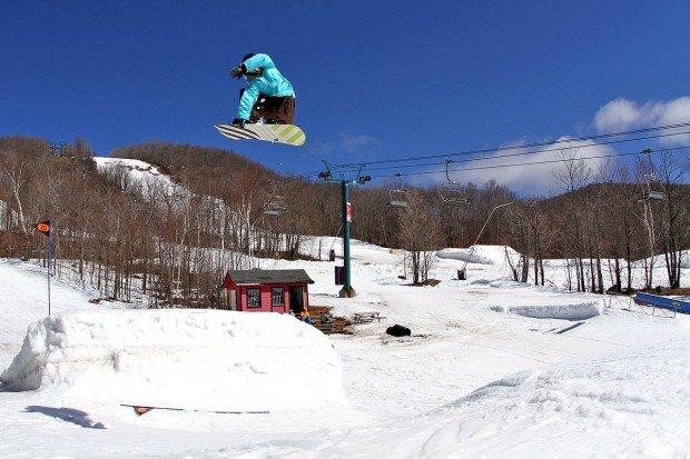 """""""Mont la Reserve Snowboarder"""""""