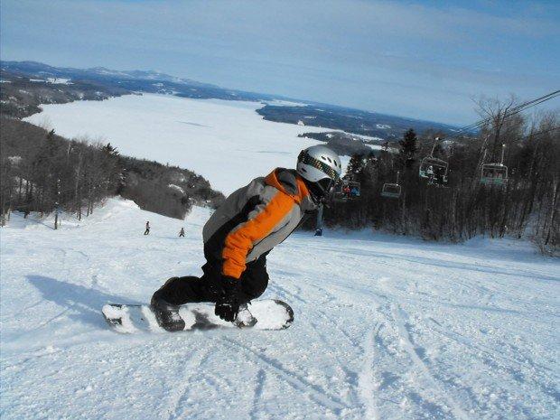 """""""Mont la Reserve Snowboarding"""""""