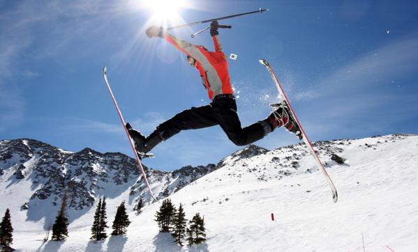 """""""Skier jumping"""""""