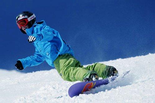 """Mount Bachelor, Snowboarding"""
