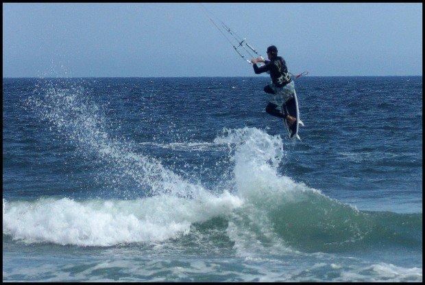 """""""Nantasket Beach Kitesurfing"""""""