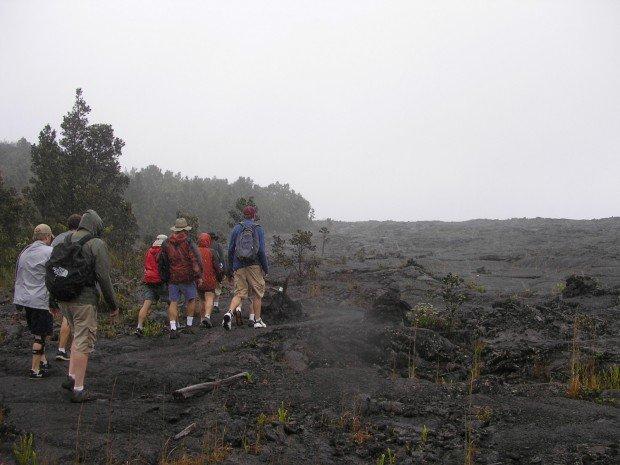 """""""Napau Trail Hiking"""""""