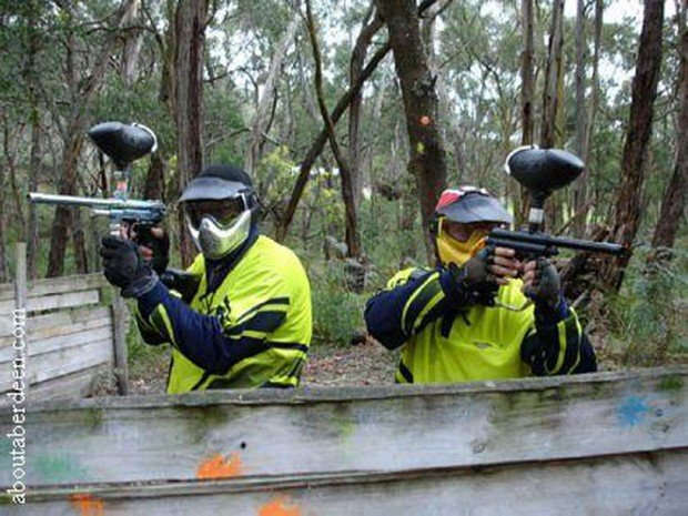 """""""Paintball at Deeside Activity Park"""""""