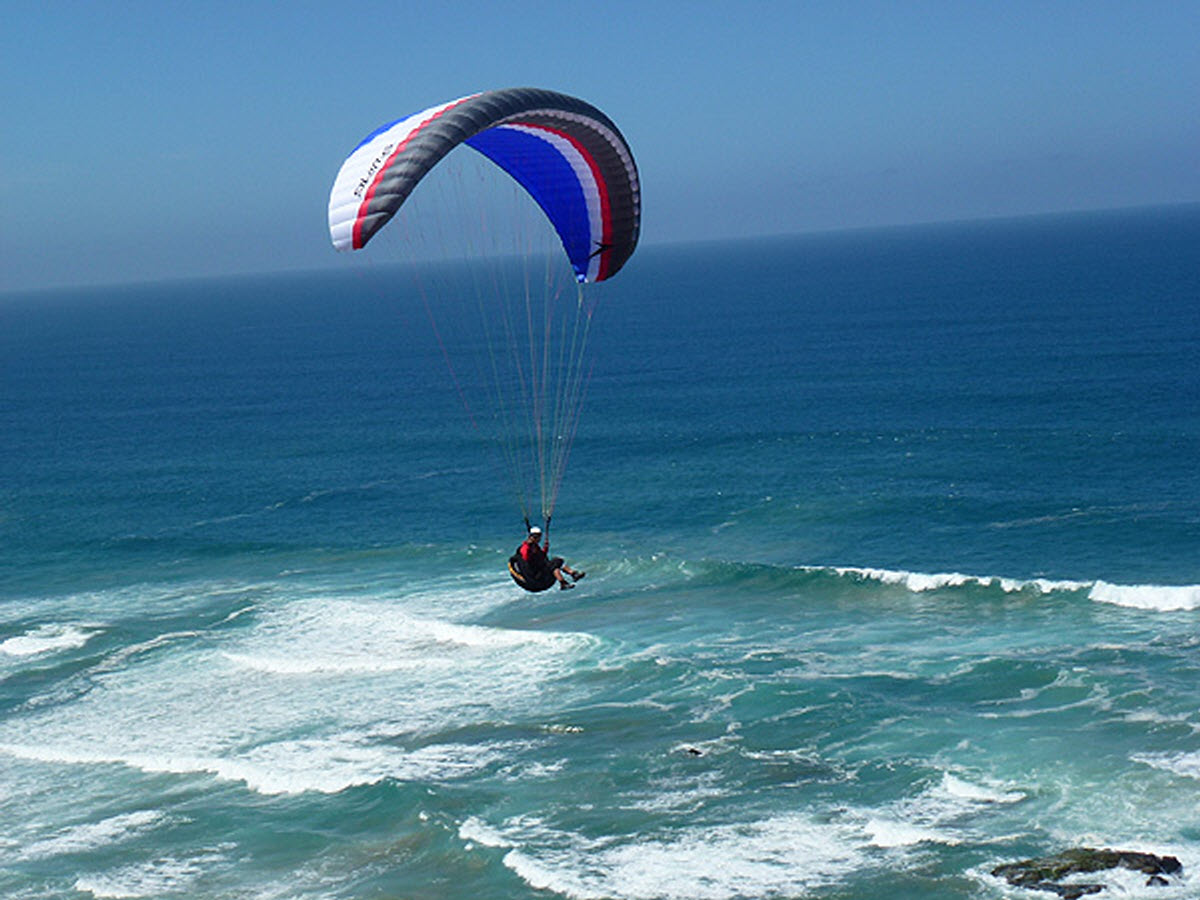 Paragliding Wilderness George Western Cape South Africa