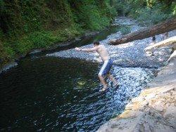 Punchbowl Falls, Hood River