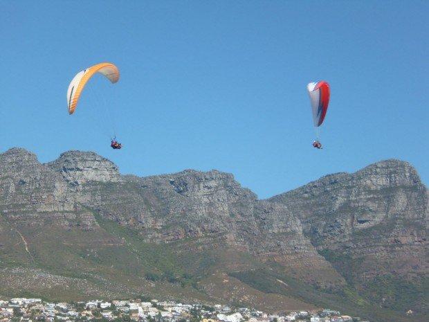 """Sir Lowry's Pass Paragliding"""