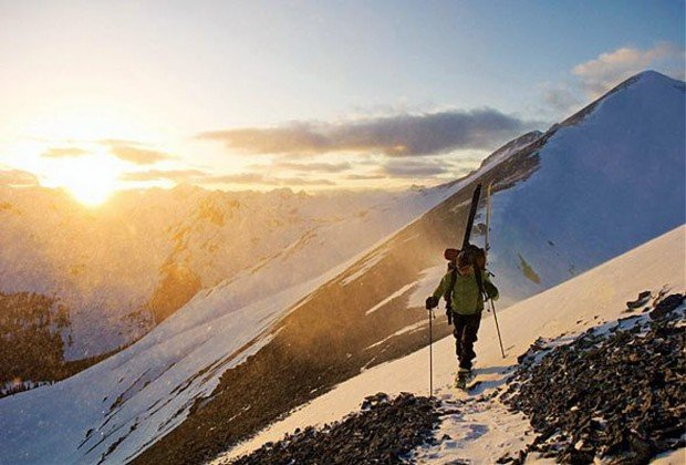 """Ski Mont Gabriel Snowshoeing"""