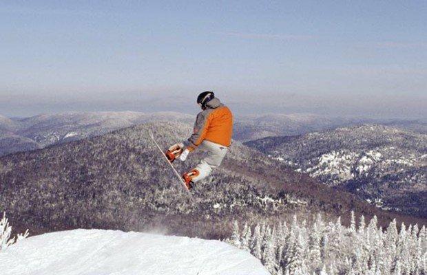 """Ski Mont Orford Snowboarding"""
