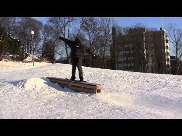 """Ski Mont Orford Snowskating"""