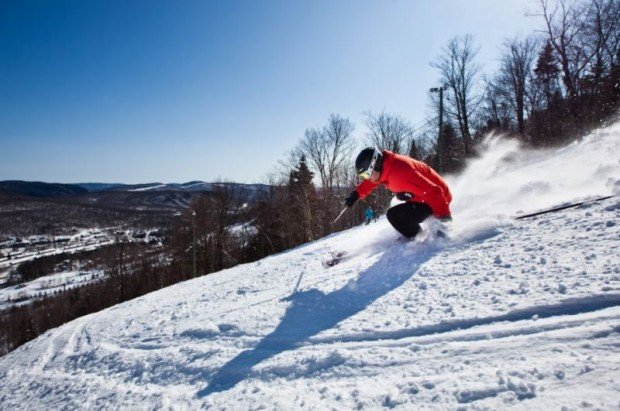 """Skiing Stoneham"""