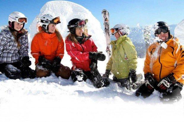 """""""Family skiing Canada"""""""