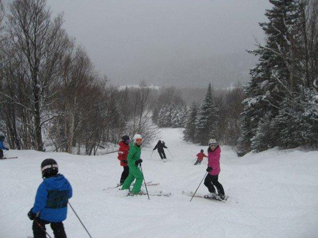 """""""Skiing Saint Raymond"""""""