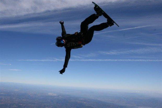 """Sky surfing"""