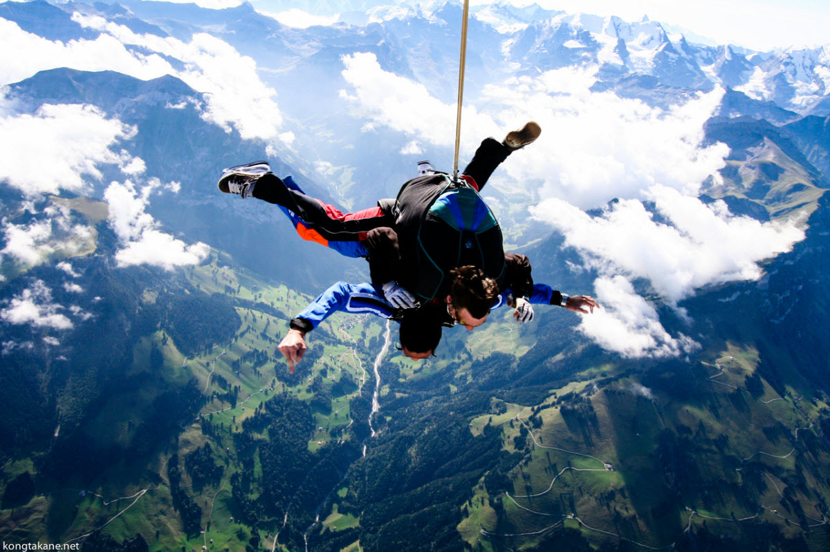 Skydiving False Bay Cape Town Western Cape South Africa